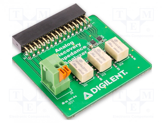 DIGILENT OPENSCOPE - Modul: impedancia analizátor