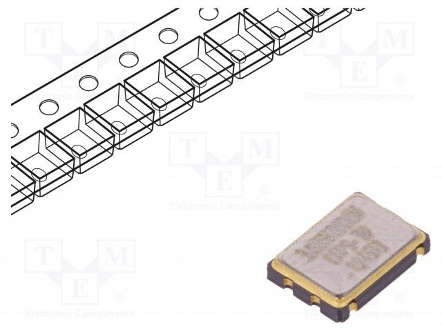 IQD FREQUENCY PRODUCTS LFSPXO025921BULK - Generator: quartz