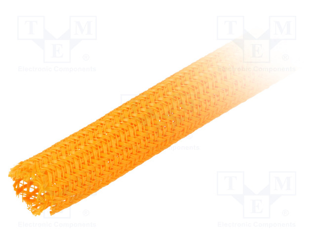 ALPHA WIRE GRP1303/8 ORANGE 50 FT - Polyester conduit