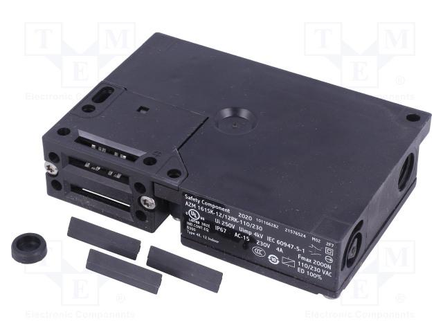 SCHMERSAL AZM 161SK-12/12RK-110/230 - Safety switch: bolting