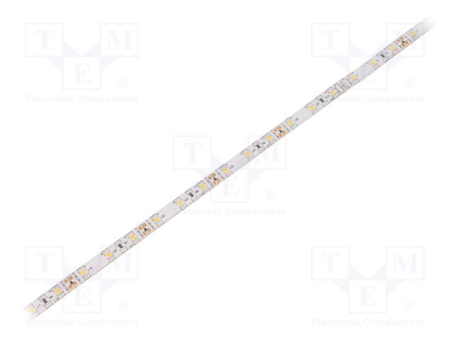WISVA OPTOELECTRONICS HH-S60F008-3528-12 WW WHITE PCB IP65A - Ταινία LED