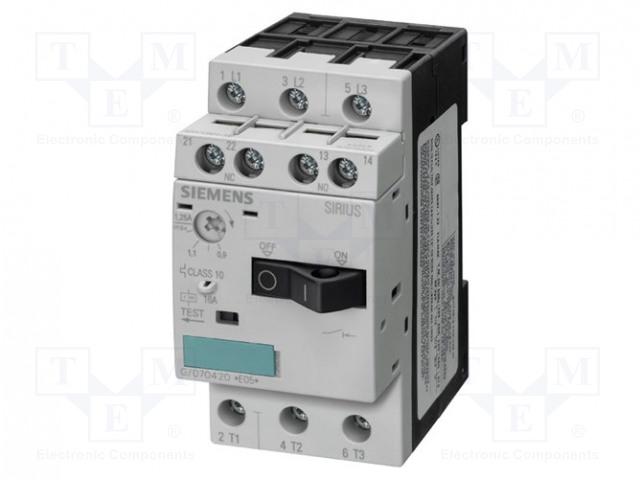 SIEMENS 3RV1011-0KA10 - Motorový jistič