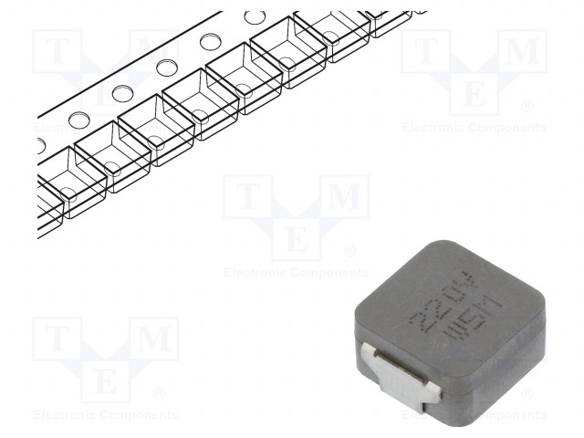 KEMET MPLCV1054L220 - Inductor: wire