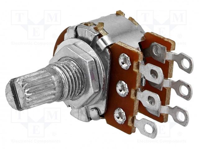 SR PASSIVES R16148-1B-1-B500K - Potentiometri: aksiaalinen