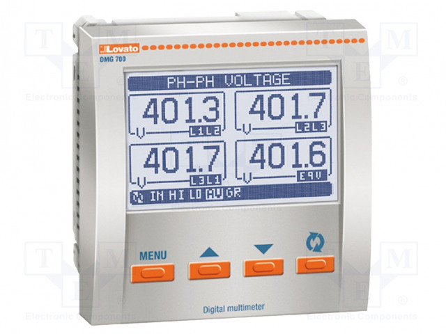 LOVATO ELECTRIC DMG 700 L01 - Verkkoparametrien mittari