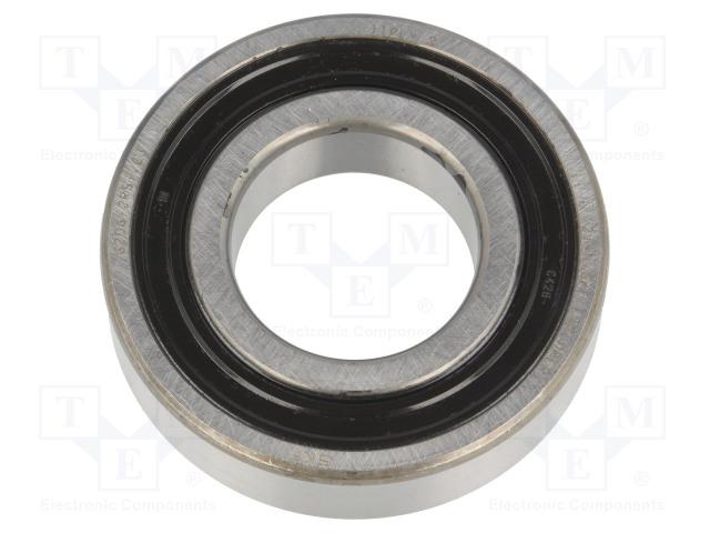 SKF 6206-2RS1/C3 SKF - Bearing: single row deep groove ball