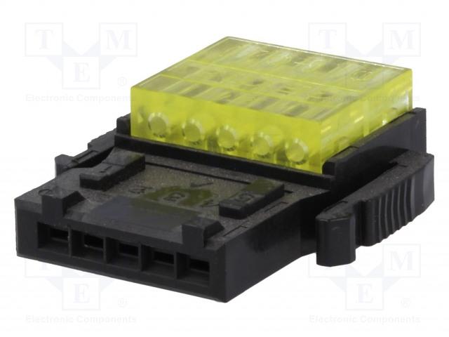 3M 35505-6200-A00 GF - Konektor: kabel-kabel/plošný spoj