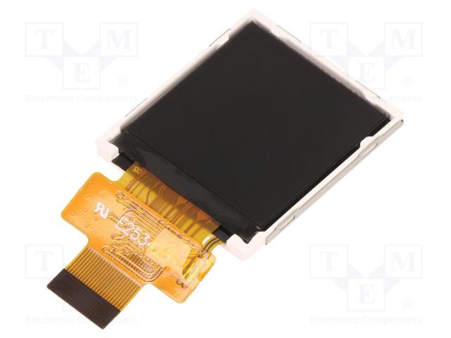 DISPLAY ELEKTRONIK DEM 128128A1 TMH-PW-N - Display: TFT