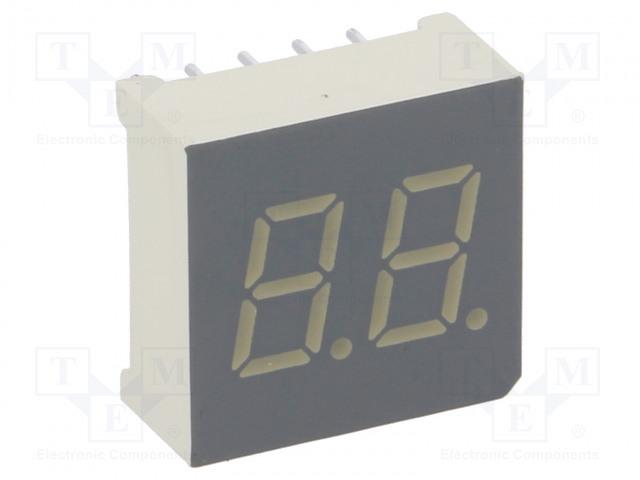 KINGBRIGHT ELECTRONIC DA03-11GWA - Zobrazovač: LED