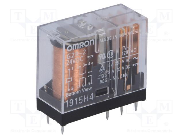 OMRON OCB G2R-2 24VDC - Relay: electromagnetic