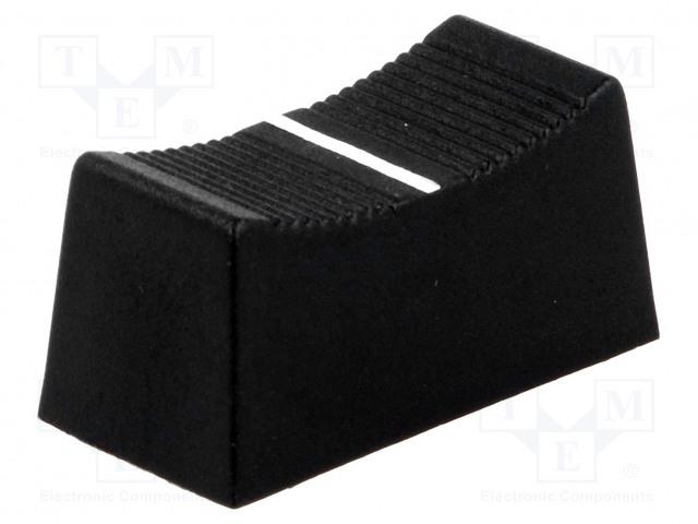 CLIFF CS1 TYPE 6MM BLACK - Nuppi: liukukappale