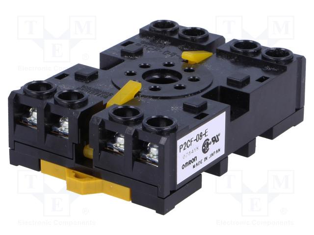 OMRON P2CF-08-E - Relays accessories: socket