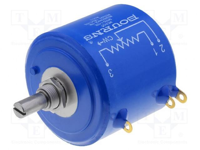BOURNS 3400S-1-502L - Potentiometri: aksiaalinen