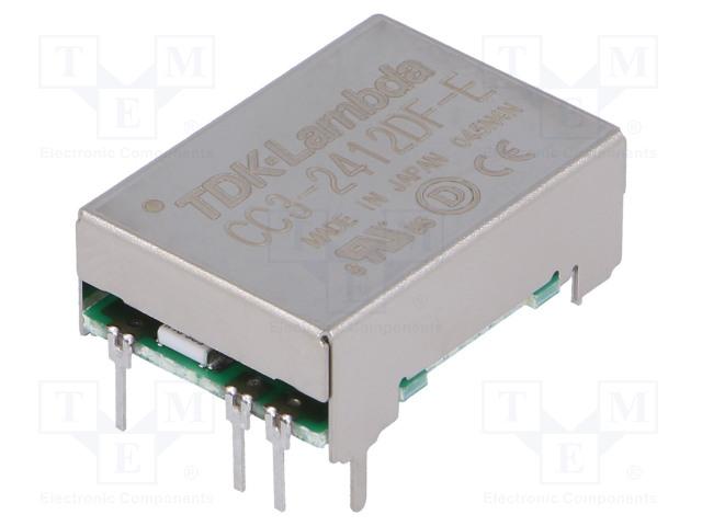 TDK-LAMBDA CC3-2412DF-E - Converter: DC/DC