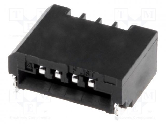 JST 04FMN-SMT-A-TF - Connector: FFC (FPC)
