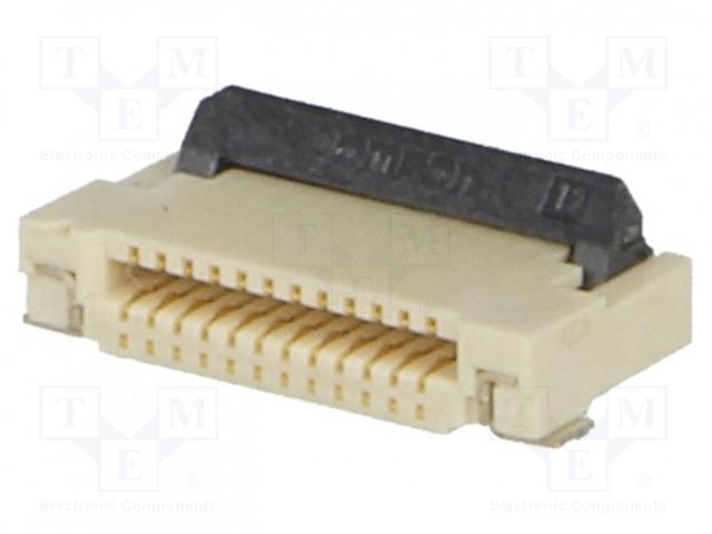 OMRON OCB XF2M12151AR100 - Connector: FFC (FPC)