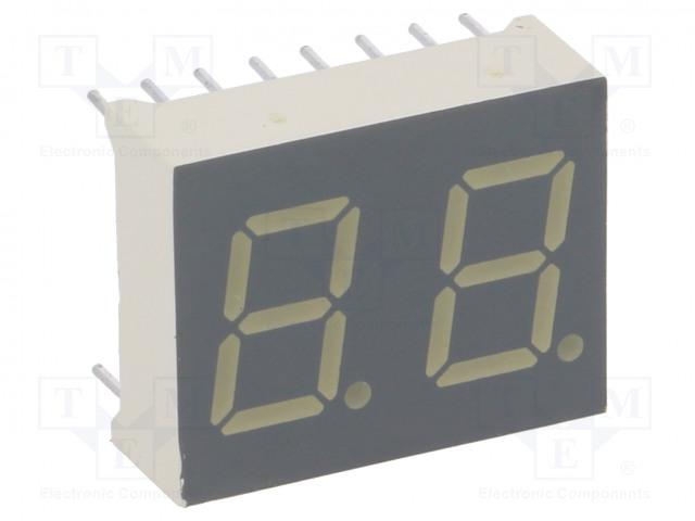 KINGBRIGHT ELECTRONIC DA04-11EWA - Zobrazovač: LED