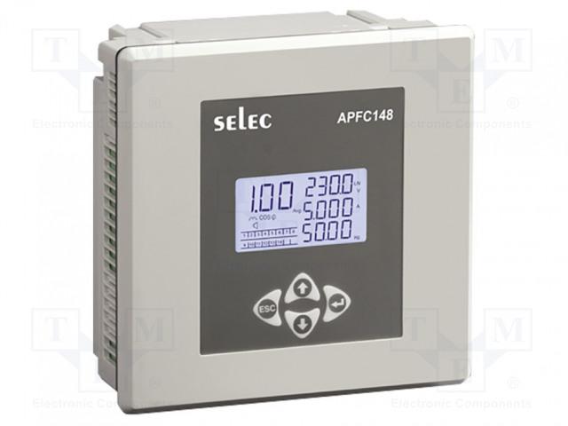 SELEC GMBH APFC148-312-90/550V-CE - Controlador de fator de potência