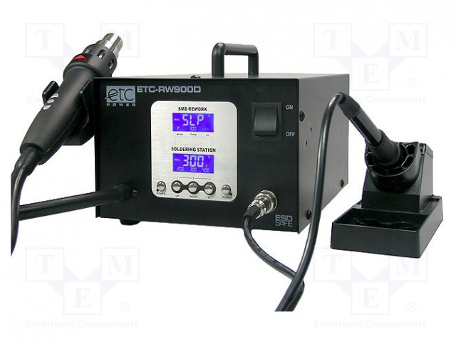 ETC POWER ETC-RW900D - Hot air soldering station