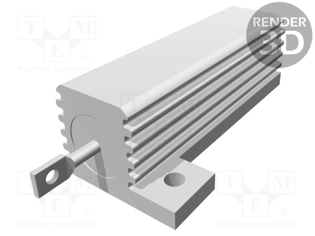 TE Connectivity 9-1625984-3 - Resistor: wire-wound