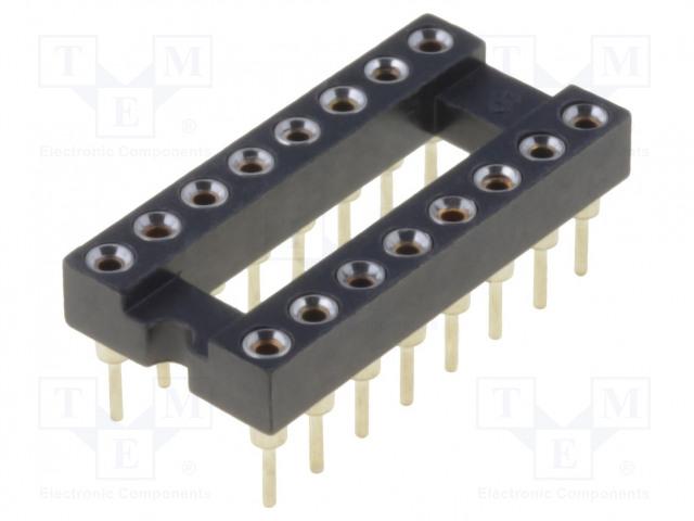 ADAM TECH ICM-316-1-GT - Socket: DIP