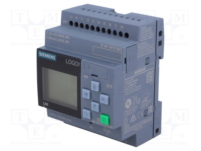 SIEMENS 6ED1052-1CC08-0BA0 - Programozható relé