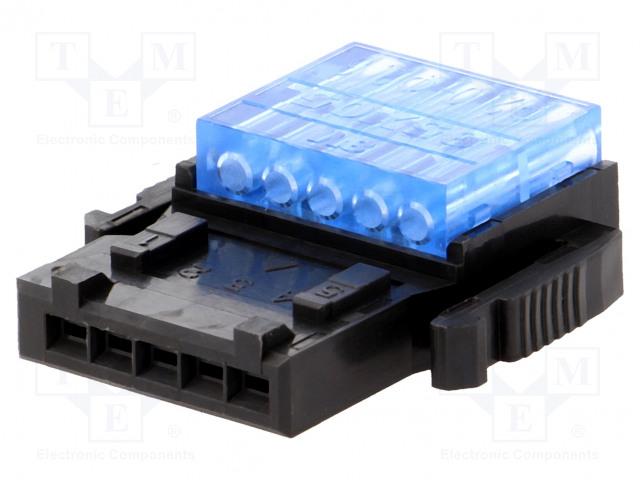 3M 35505-6180-A00 GF - Konektor: kabel-kabel/plošný spoj