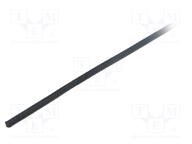 ALPHA WIRE GRP1301/8 BLACK 50 FT - Polyester conduit