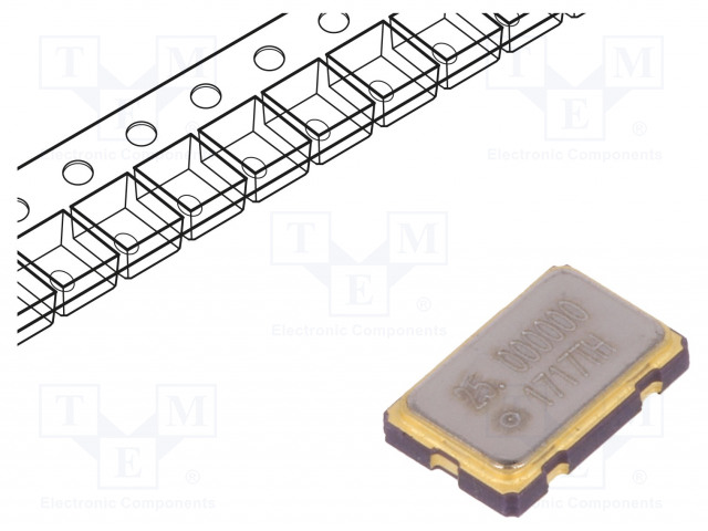 IQD FREQUENCY PRODUCTS LFSPXO009589CUTT - Generator: quartz