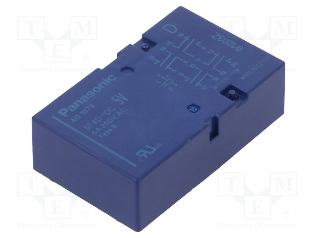 PANASONIC SF4D-DC5V - Relay: electromagnetic