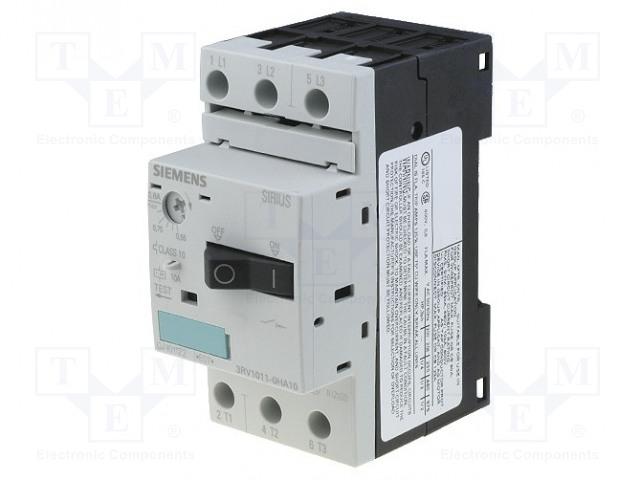 SIEMENS 3RV1011-0HA10 - Motorový jistič