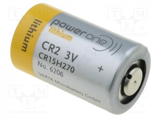 VARTA MICROBATTERY 6206 210 501 - Battery: lithium