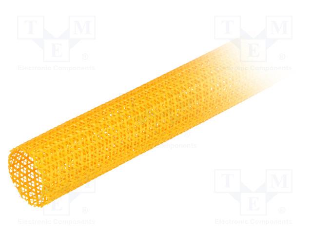 ALPHA WIRE GRP13011/4 ORANGE 25 FT - Polyester conduit