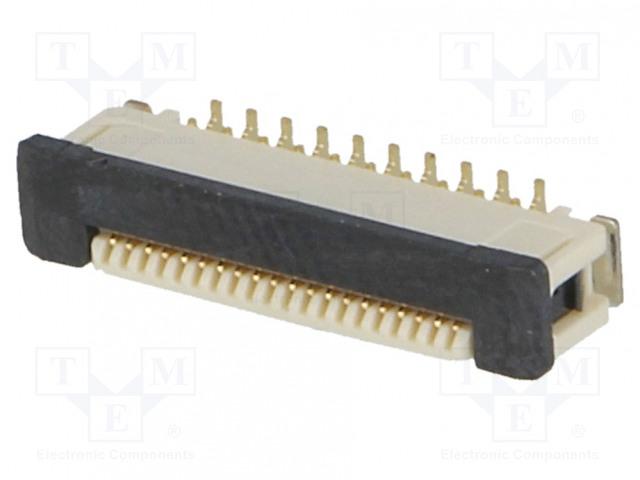 OMRON OCB XF2J202412AR100 - Connector: FFC (FPC)