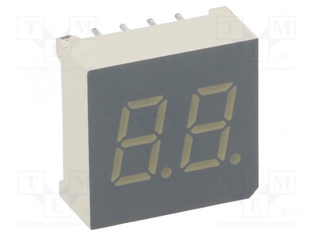KINGBRIGHT ELECTRONIC DA03-11PBWA/A - Zobrazovač: LED