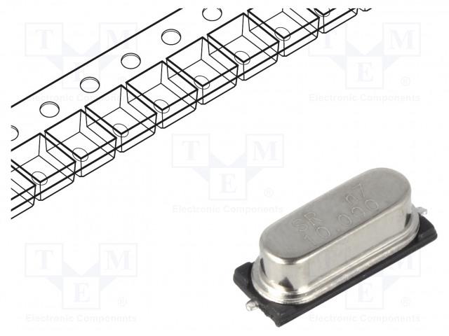 SR PASSIVES 10M-49SMD-SR - Resonator: quartz