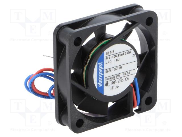 EBM-PAPST 414 F - Ventilador: CC