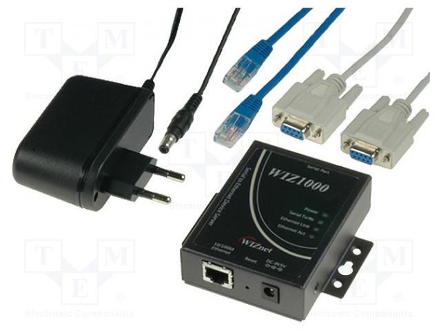 WIZNET WIZ1000 - Moduuli: Ethernet