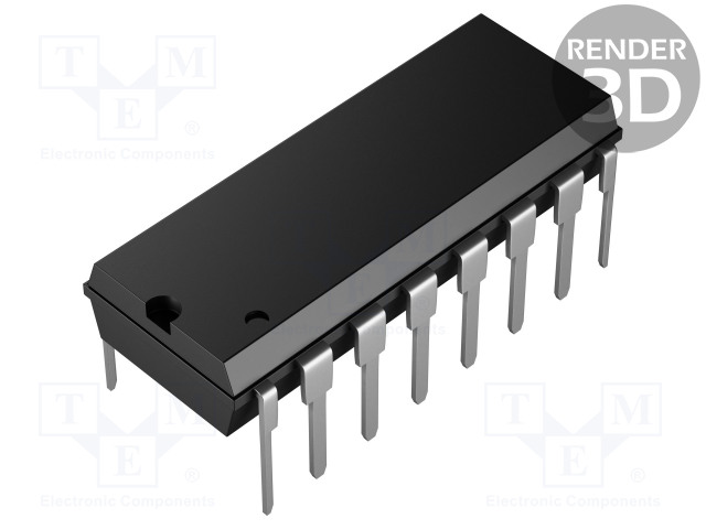 TEXAS INSTRUMENTS CD40110BE - IC: digital