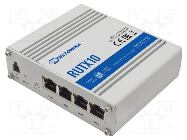 TELTONIKA RUTX10000000 - Moduuli: teollisuusmodeemi