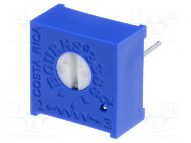 BOURNS 3386P-1-102LF - Potentiometer: mounting