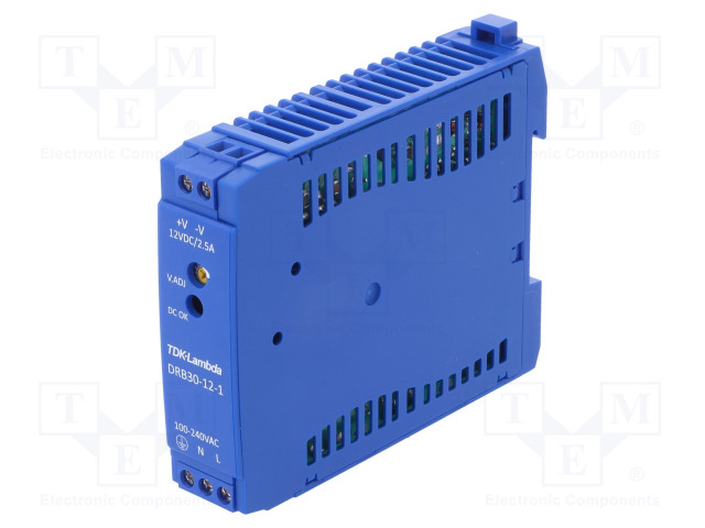 TDK-LAMBDA DRB30-12-1 - Power supply: switched-mode