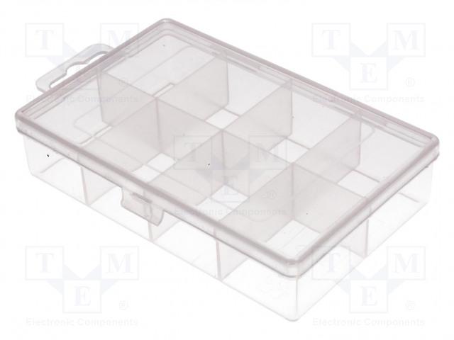 NEWBRAND NB-BOX8 - Säiliö: osastoihin varustettu laatikko