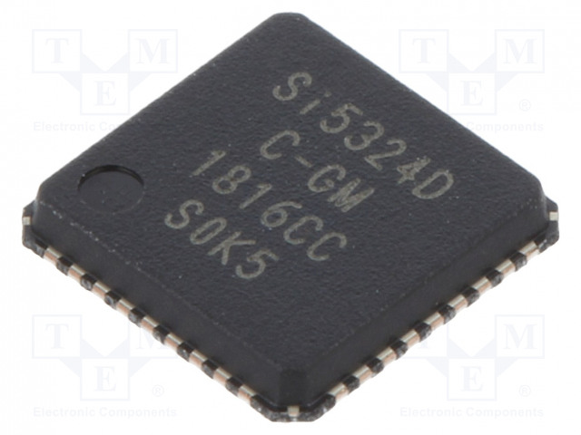 SILICON LABS SI5324D-C-GM - IC: peripheral circuit