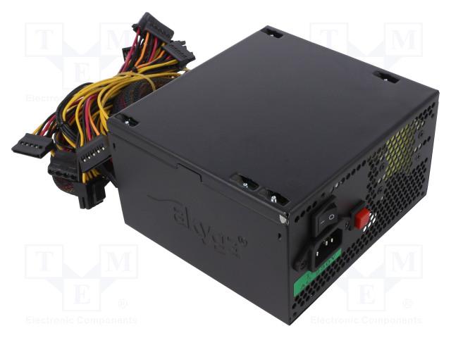 AKYGA AK-P3-650 - Power supply: computer