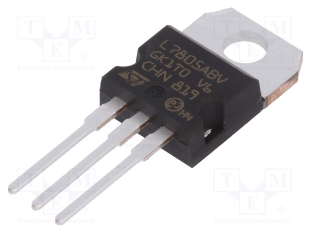 STMicroelectronics L7805ABV-DG - IC: stabilizzatore di tensione