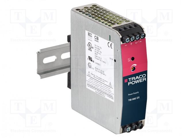 TRACO POWER TIB 080-112EX - Napájací zdroj: spínaný