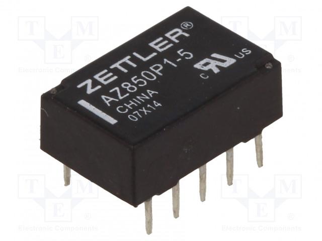 ZETTLER AZ850P1-5 - Relé: elektromagnetické