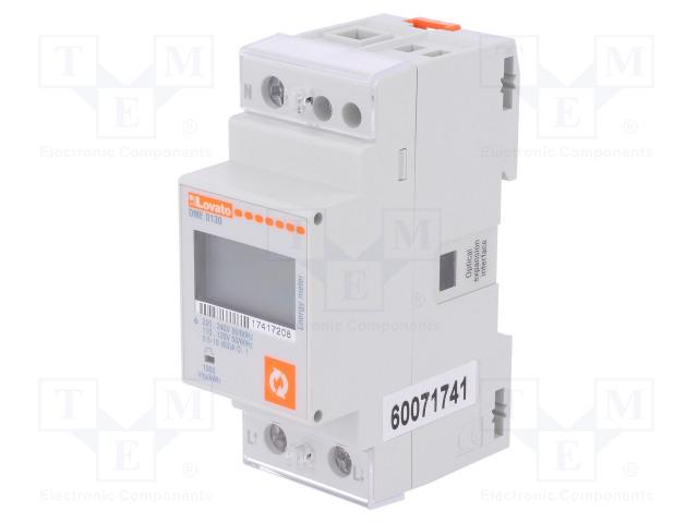 LOVATO ELECTRIC DME D130 - Sähköenergian laskurit