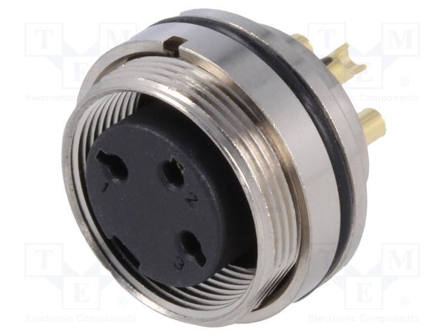 BULGIN PXMBNI16RPF03ASCM16 - Connector: M16